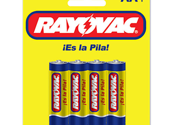 Baterias AA Rayovac Zinc Carbon