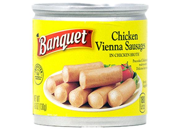 Salchicha Vienna de Pollo Banquet 4.6oz
