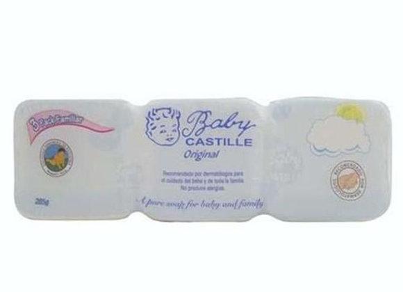 Jabon Blanco  Baby Castille TriPack