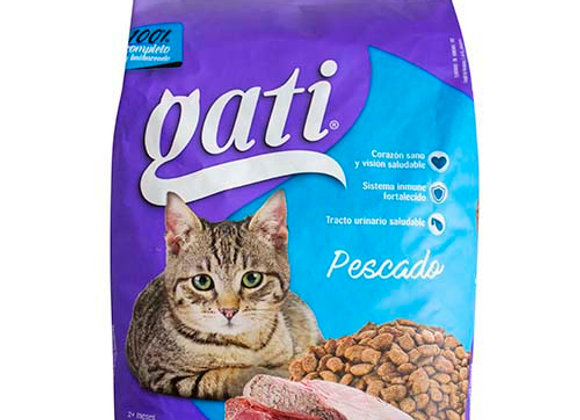 Comida para Gatos Pescado 20/2.2lbs Gati