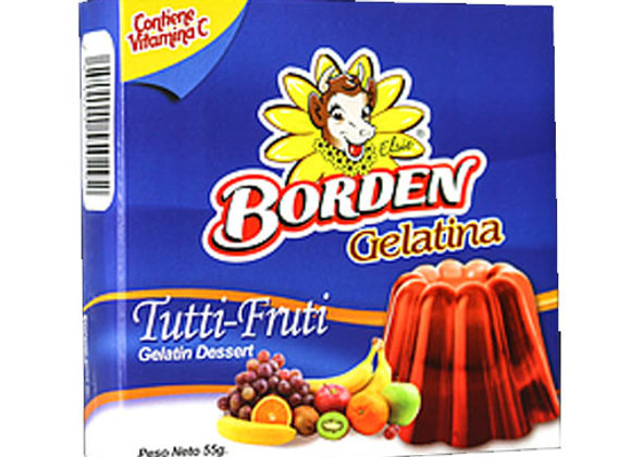 Gelatina Tutti Frutti Borden 110gr
