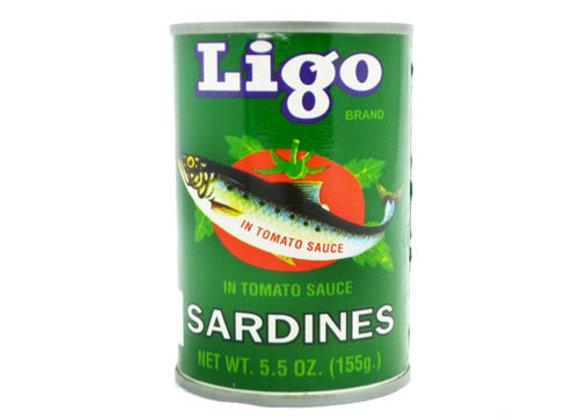 Sardina con Salsa de Tomate Ligo 5.5 onz