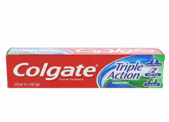 Pasta Dental Triple Accion Colgate 125 Ml