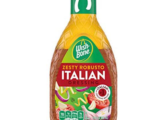 Aderezo Italiano Wish-Bone 8oz