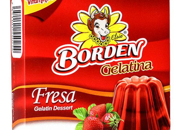 Gelatina Fresa Borden 110gr