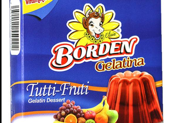 Gelatina Tutti Frutti Borden 55gr