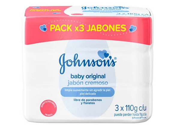 Jabon Original 3 Pack Johnson & Johnson