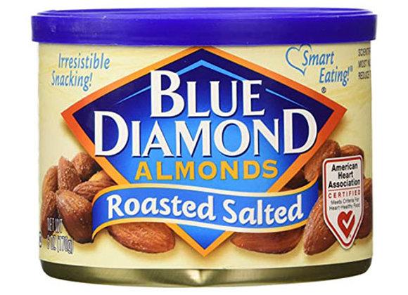 Almendras Roasted Salada Blue Diamond 6oz