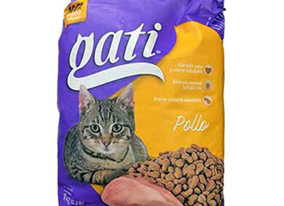 Comida para Gatos Pollo 20/2.2lbs Gati