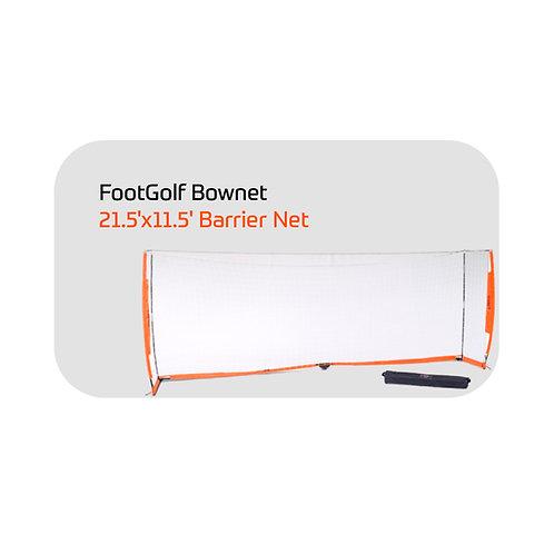 FootGolf Bownet 21.5'x11.5' Barrier Net