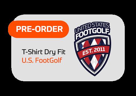 T-shirt Dry Fit U.S. FootGolf