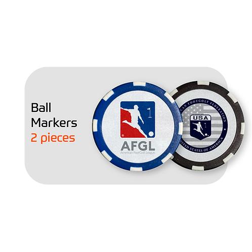 FootGolf Custom Ball Markers (2)