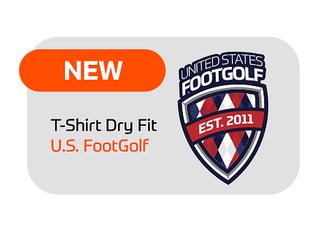 T-shirt Dry Fit U.S. FootGolf