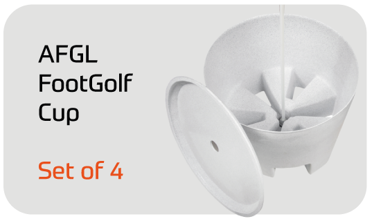 AFGL FootGolf Cup Set of 4