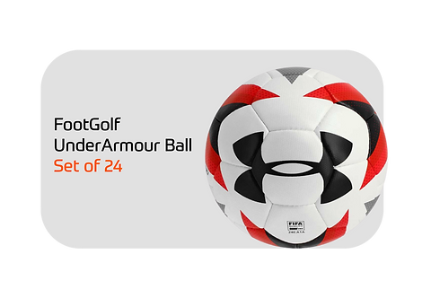 Under Armour Soccer Ball Set of 24