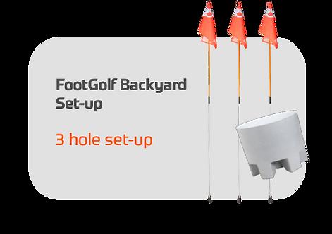 FootGolf Backyard Setup