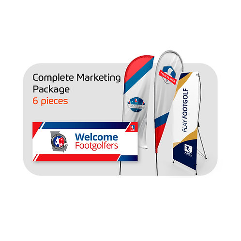 FootGolf Complete Marketing Package