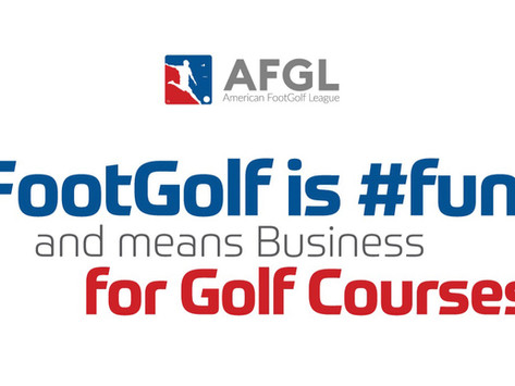 FootGolf is fun and means business for golf courses!
