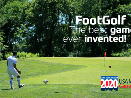 USA Masters Games welcomes FootGolf