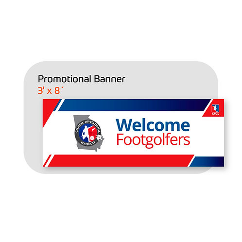 FootGolf Promotional Banner