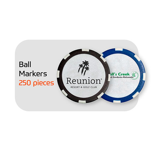 FootGolf Custom Ball Markers (250)