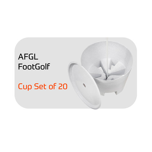 AFGL FootGolf Set of 20