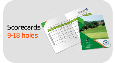 FootGolf Custom Designed Scorecards
