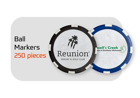 FootGolf Custom Ball Markers (250)