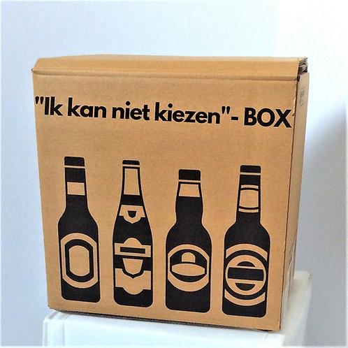 """Ik kan niet kiezen"" BOX"