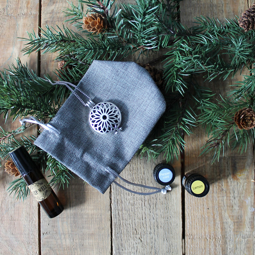 Intro to Essential Oils: DIY Diffuser Necklace & Roller Ball