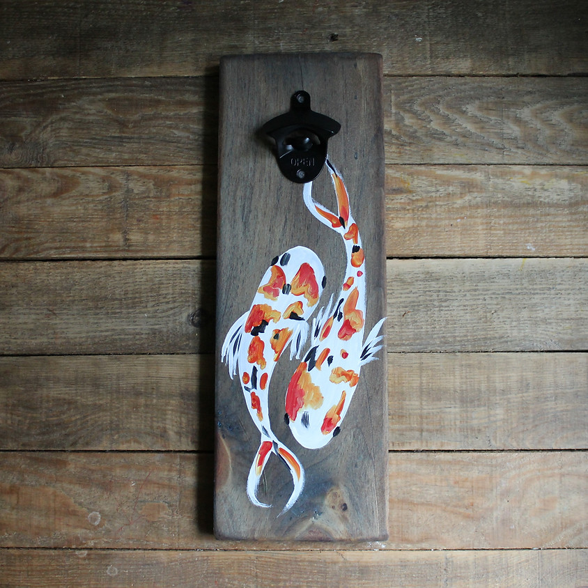 Make Your Own Bottle Opener Wall Hanging