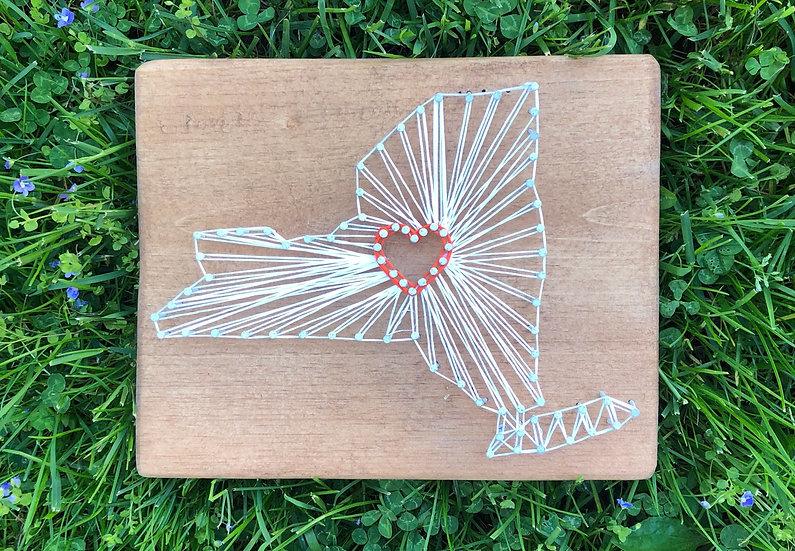 I Heart 'Cuse String Art Kit