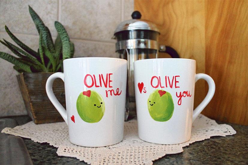 Love Mugs Painted Mug Sets To Go