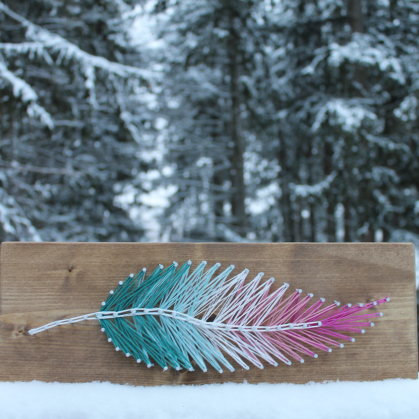 Feather String Art (1)