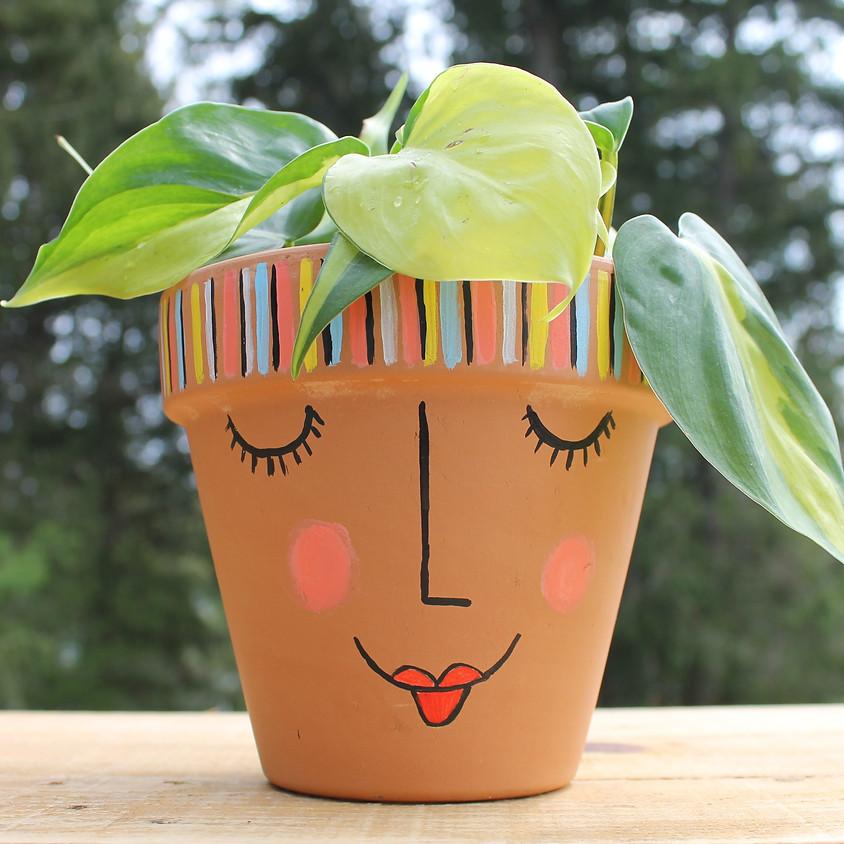 Painted Pots & Plants Workshop