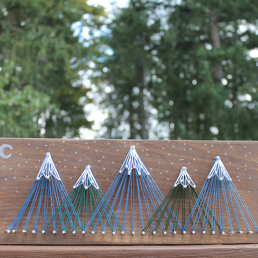 Mountain String Art Workshop