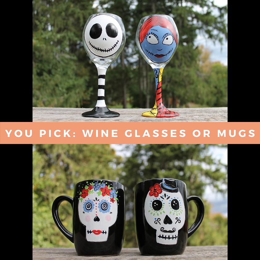 Spooky Spirits: Drinkware Painting Workshop