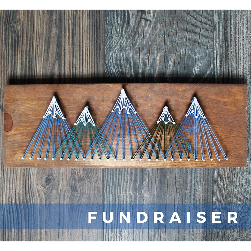 Miracle Maker Mountain String Art Fundraiser