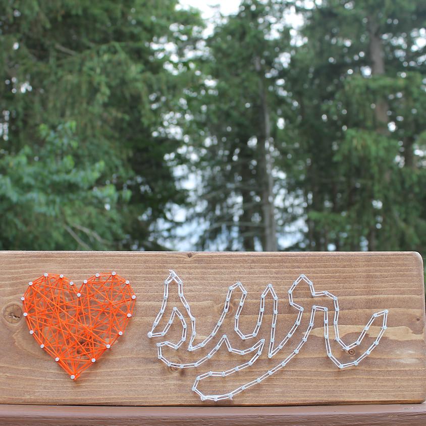 Syracuse Love String Art Workshop
