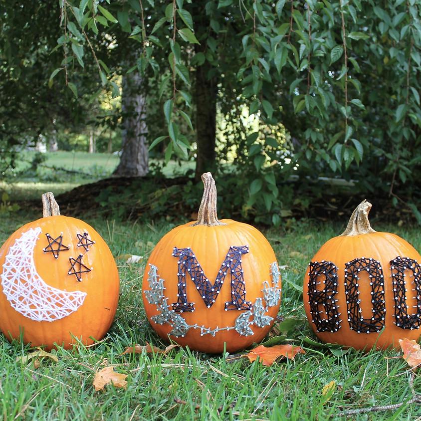 String Art Pumpkin Workshop