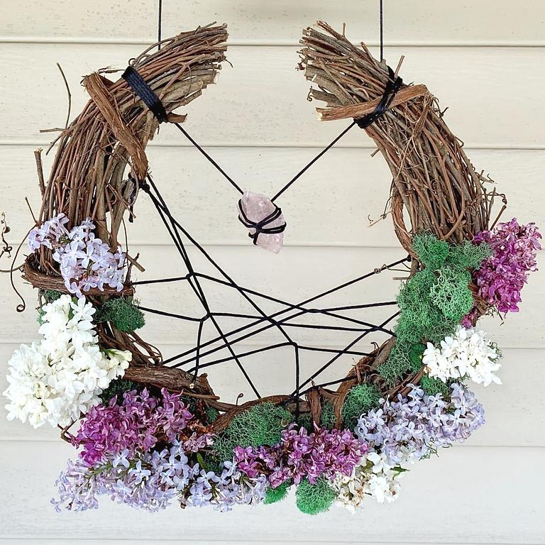 Crescent Moon Wreath Workshop