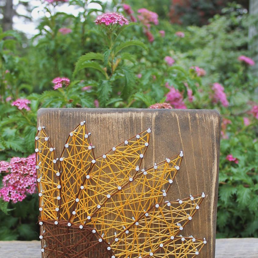 Flower String Art Workshop