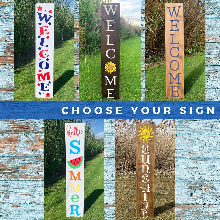Summer Porch Sign Workshop