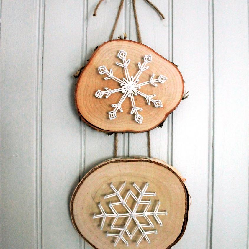 String Art Snowflake Workshop
