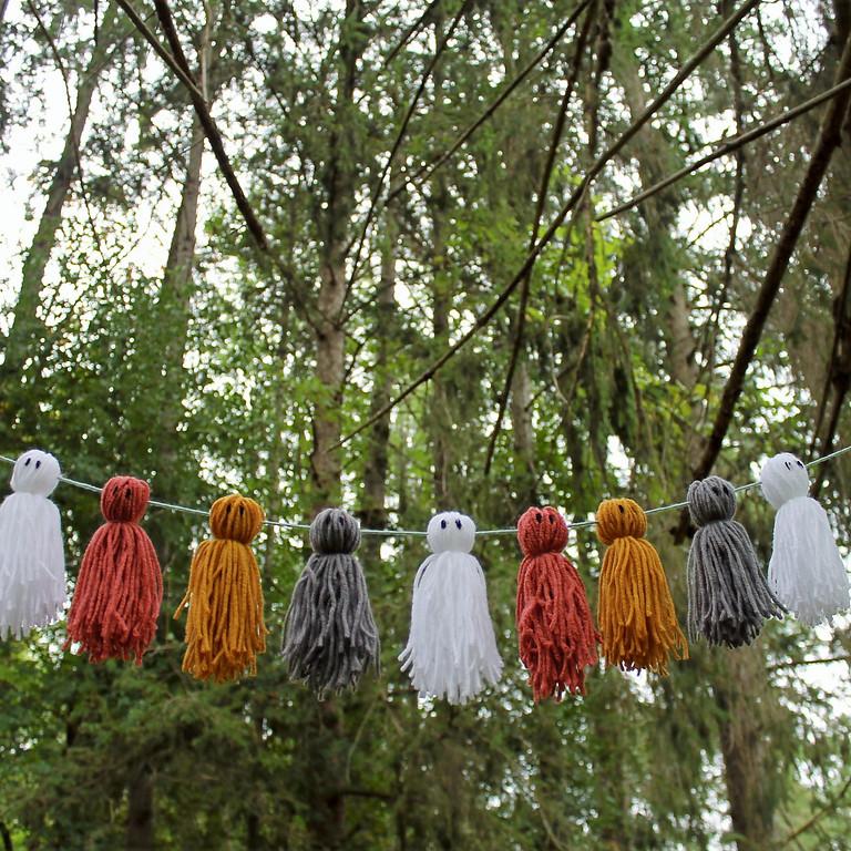 Ghost Garland Workshop