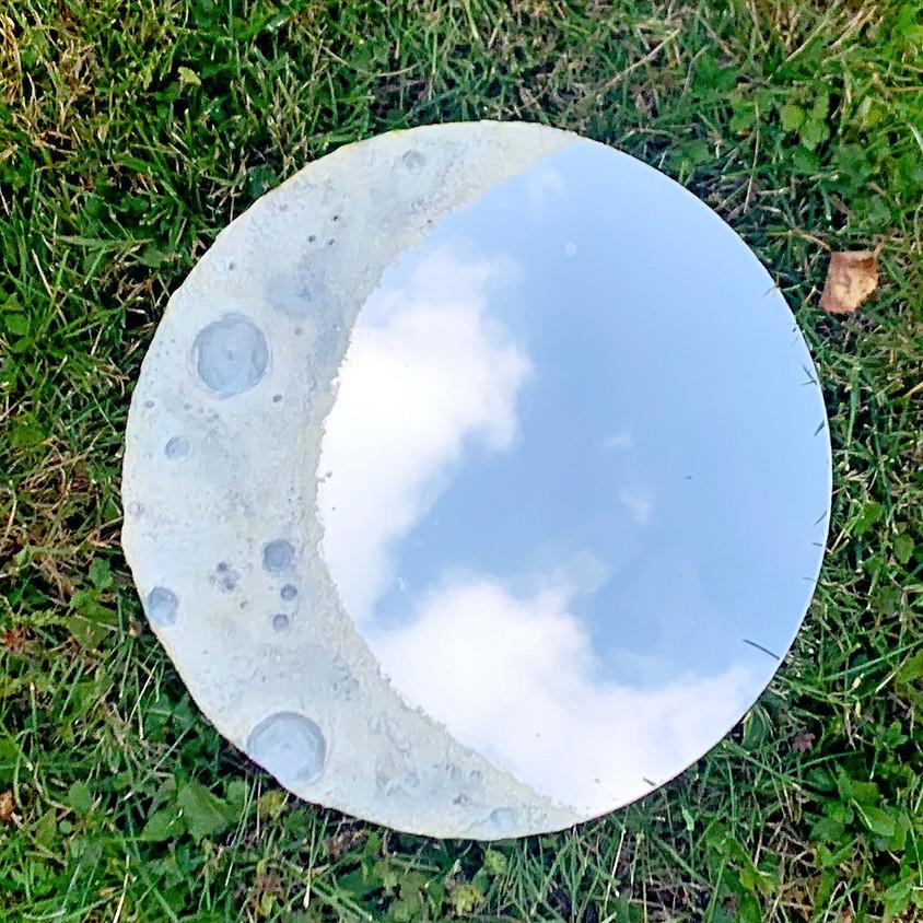 Sculpted Moon Mirror Workshop