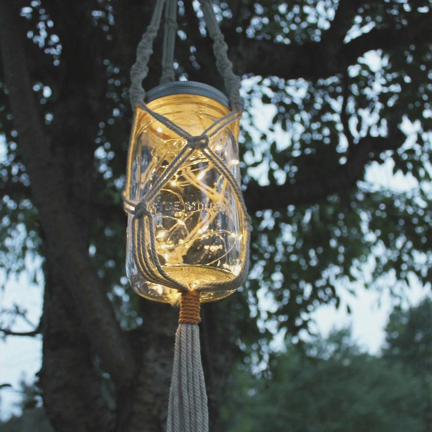 Macrame Hanging Lantern Workshop