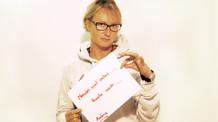 Andrea Patrzek aktiv mit Umsicht.
