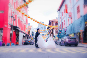 Leo & Cherrie Singapore Prenuptial Photos
