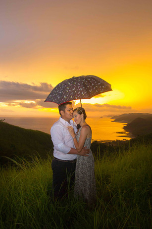 Marlon & Joan Cam. Sur Destination Prenuptial Photos